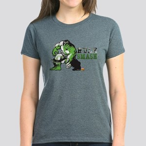 Hulk Color Splash Women's Dark T-Shirt