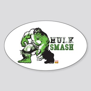 Hulk Color Splash Sticker (Oval)