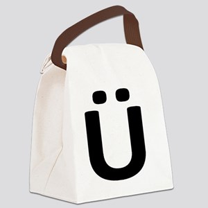 U:  Canvas Lunch Bag
