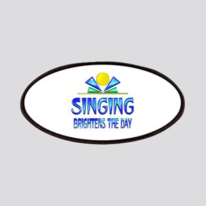 Singing Brightens the Day Patch