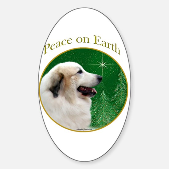 Pyr Peace Oval Decal