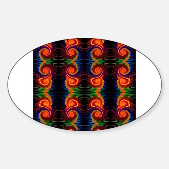color spectrum swirl Decal