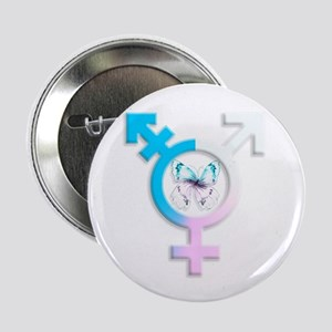 "Transgender Butterfly 2.25"" Button (10 Pack)"