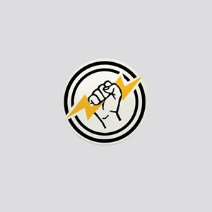 Flash hand electrician Mini Button