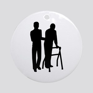 Caregiver Ornament (Round)