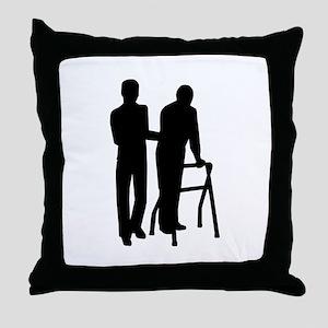 Caregiver Throw Pillow