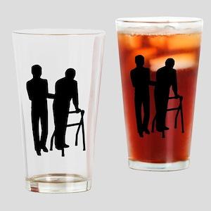 Caregiver Drinking Glass