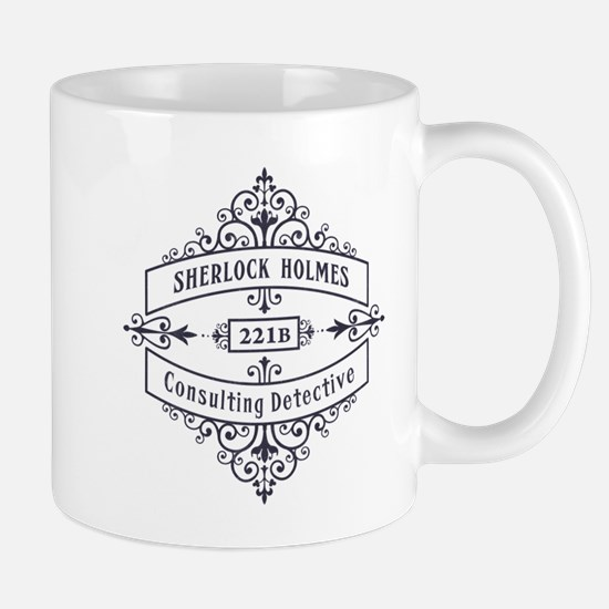 Consulting Detective (blue) Mugs