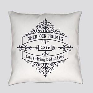 Consulting Detective (blue) Everyday Pillow