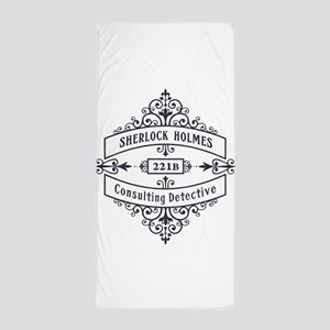 Consulting Detective (blue) Beach Towel