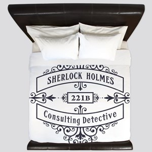 Consulting Detective (blue) King Duvet