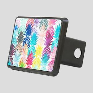 Hawaiian Pineapple Pattern Rectangular Hitch Cover