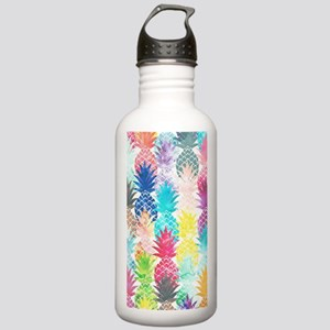 Hawaiian Pineapple Pat Stainless Water Bottle 1.0L