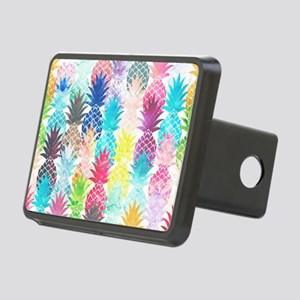 Hawaiian Pineapple Pattern Rectangular Hitch Cover