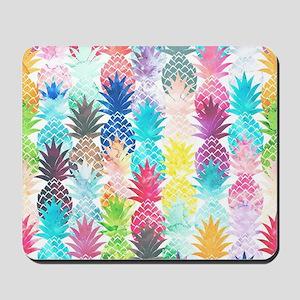 Hawaiian Pineapple Pattern Tropical Wate Mousepad