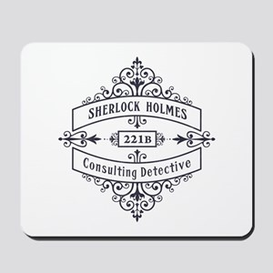 Consulting Detective (blue) Mousepad