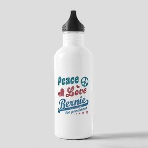 Peace Love Bernie Vintage Water Bottle