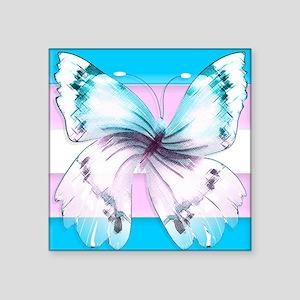 transgender butterfly of transition Sticker
