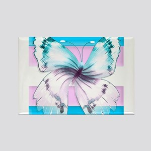 transgender butterfly of transition Magnets