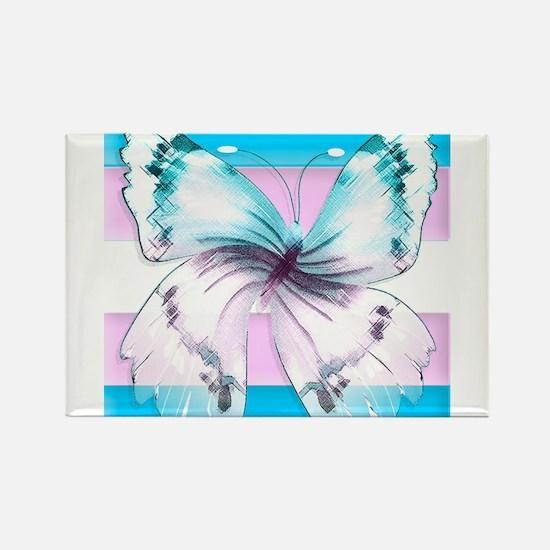 transgender butterfly of transition Magnets