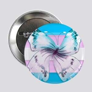 """Transgender Butterfly Of 2.25"""" Button (10 Pac"""