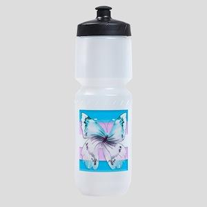 transgender butterfly of transition Sports Bottle
