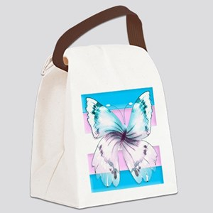 transgender butterfly of transition Canvas Lunch B