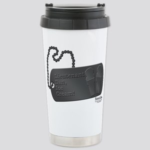 lieutenant dan Stainless Steel Travel Mug