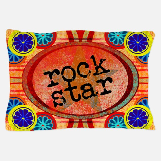 CITRUS ROCKSTAR Pillow Case
