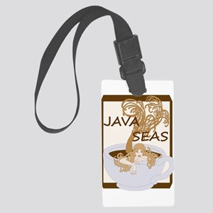 Swimming In The Java Seas Luggage Tag