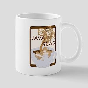 Swimming In The Java Seas Mugs
