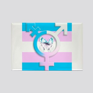Transgender Butterfly Symbol Of Equality Magnets