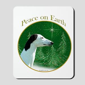 Greyhound Peace Mousepad