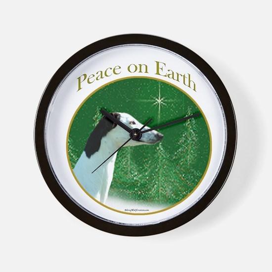 Greyhound Peace Wall Clock