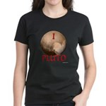 I Love Pluto Women's Dark T-Shirt