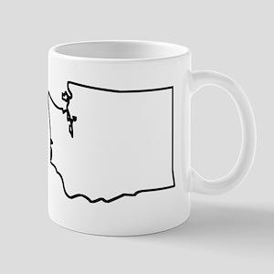 Washington Outline Mugs