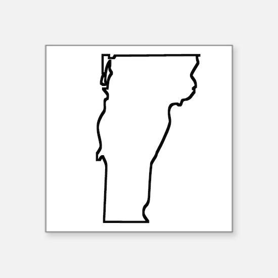 Vermont Outline Sticker