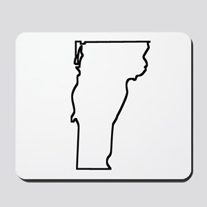 Vermont Outline Mousepad
