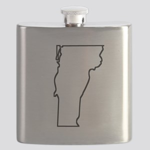 Vermont Outline Flask