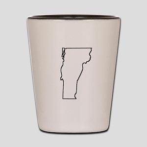 Vermont Outline Shot Glass
