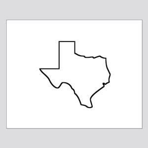 Texas Outline Posters