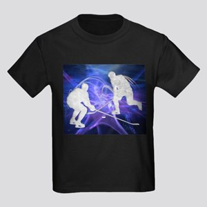 Ice Hockey Players Fighting for the Puck T-Shirt