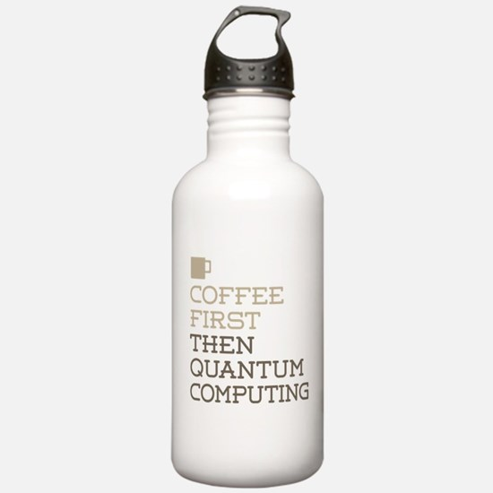 Quantum Computing Sports Water Bottle