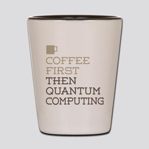 Quantum Computing Shot Glass