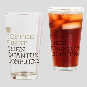 Quantum Computing Drinking Glass