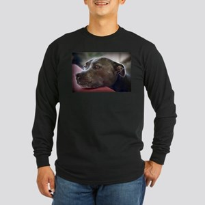 Loving Pitbull Eyes Long Sleeve T-Shirt