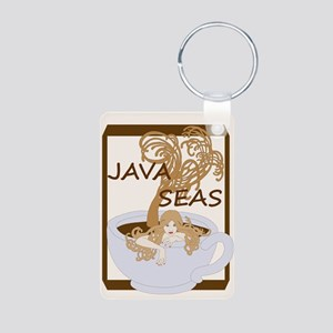 swimming in the java seas Keychains