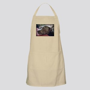 Loving Pitbull Eyes Apron
