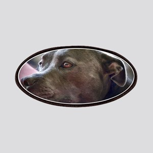Loving Pitbull Eyes Patch
