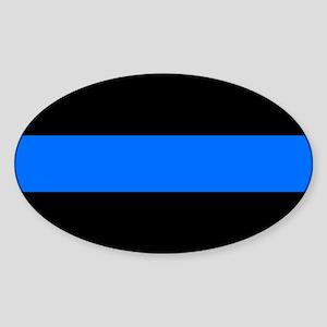 thin blue line r Sticker